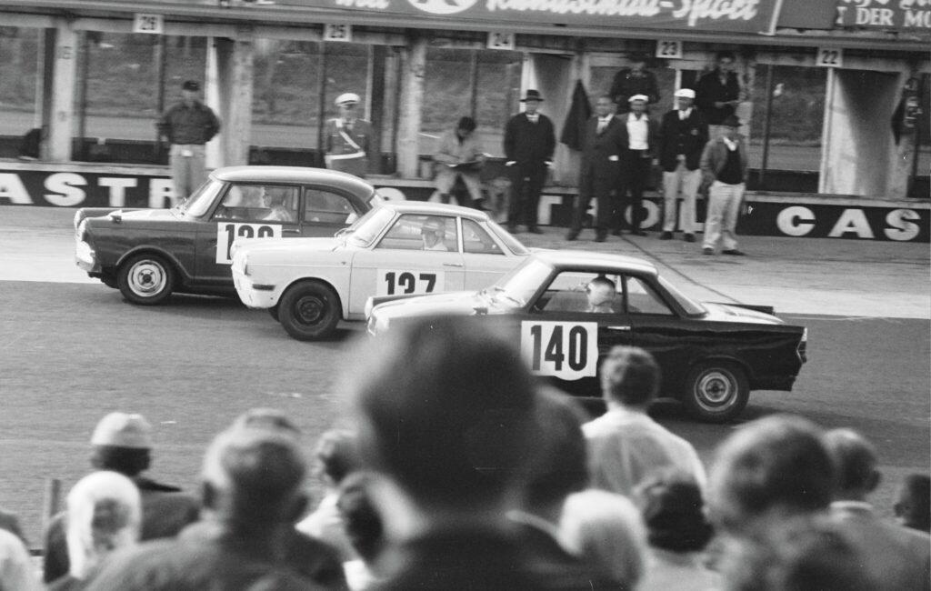 04.08.1963 | Nürburgring | AvD Tourenwagen-Trophäe und GT-Trophäe